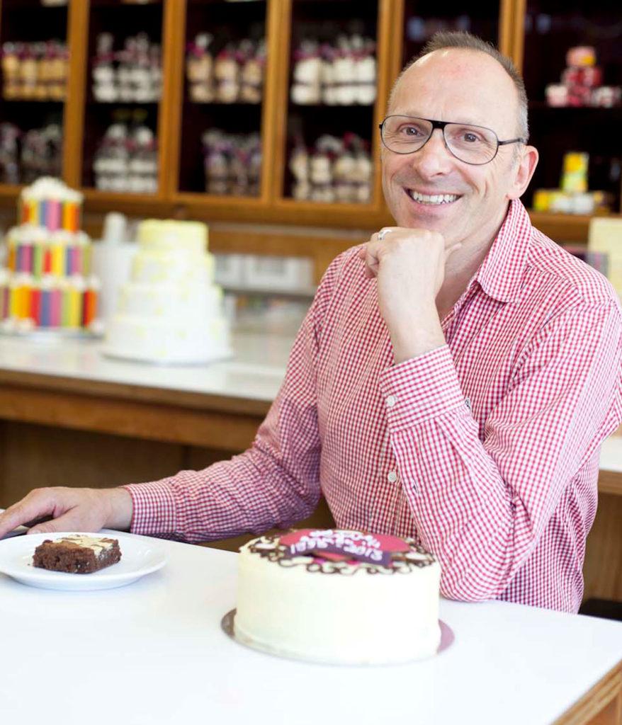 Gerhard Jenne at Cake School