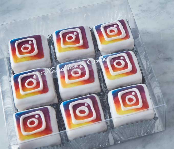 Branded Instagram Cakes