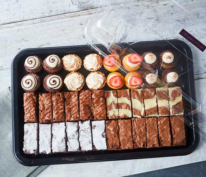 Large Mini Bake and Brownie Platter