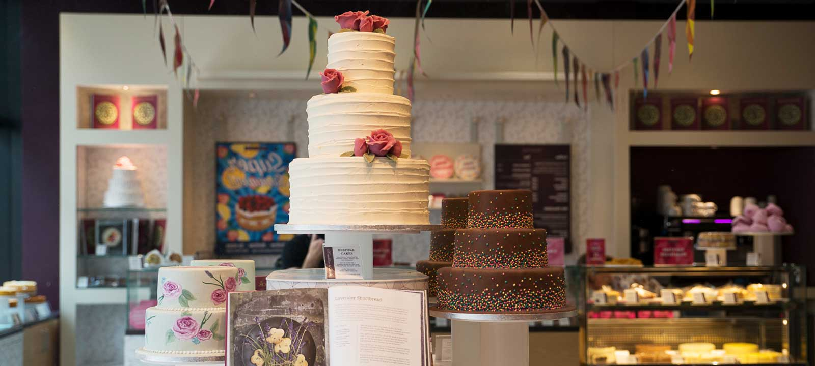 Showstopper Cake in our Spitalfields store.