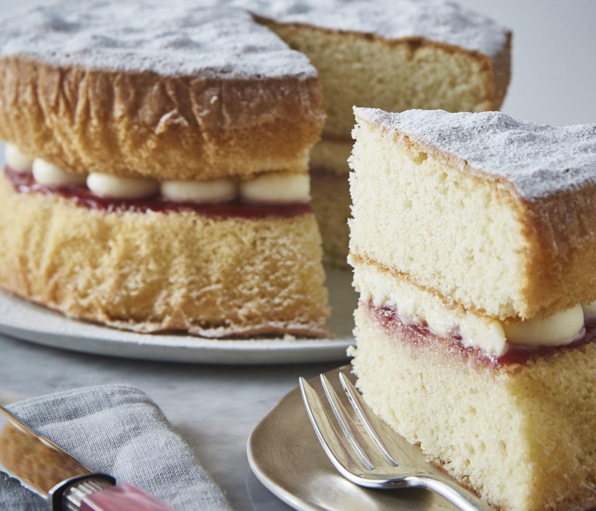 Victoria Sponge Cake Jam