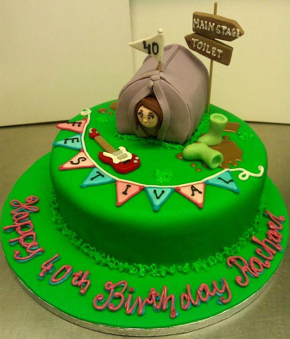 Festival Birthday Cake