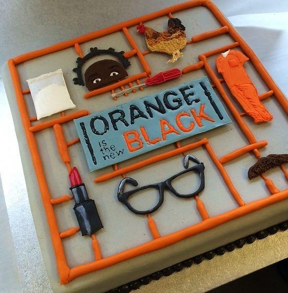 bespoke cakes orange is the new black