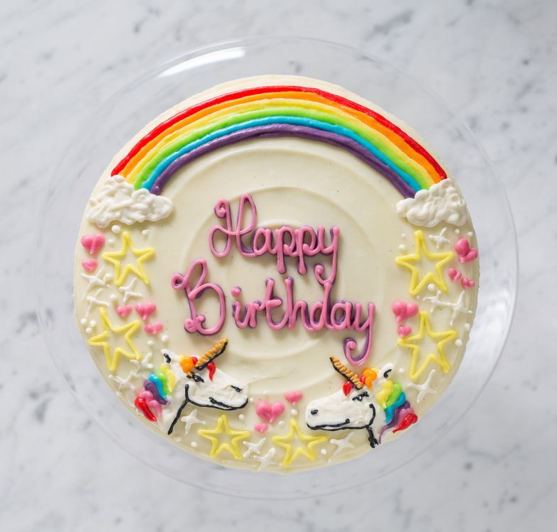 personalised cakes unicorn