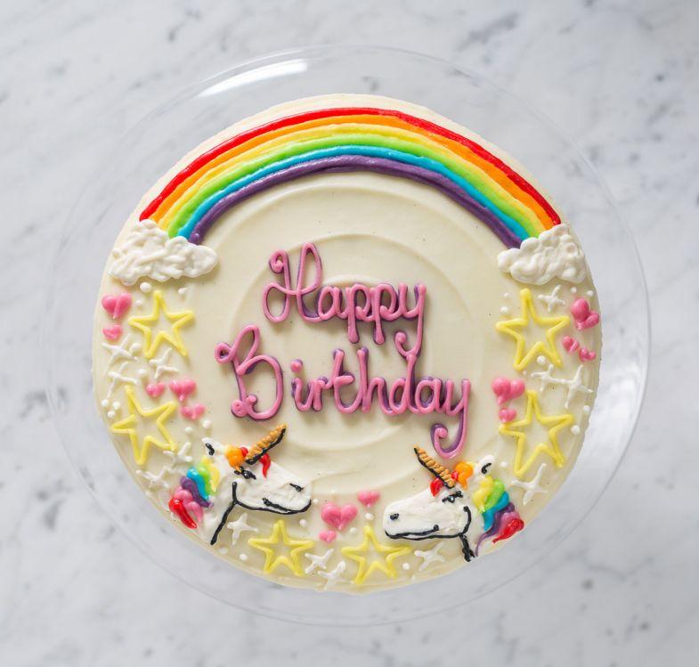 personalised cakes unicorn