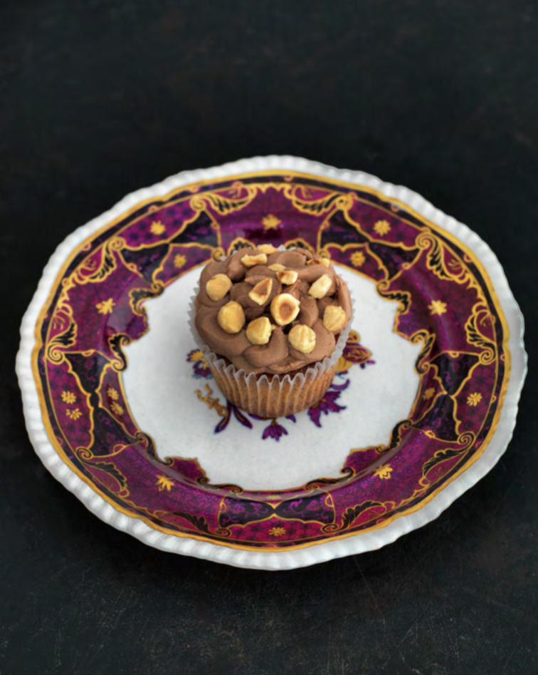 Hazelnut Cupcake Recipe