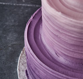 Purple Ombre Bespoke Cake