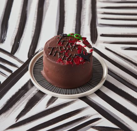 Vegan Trick or Treat Cake