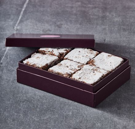 Boston Cranberry Brownie Gift Box of 12