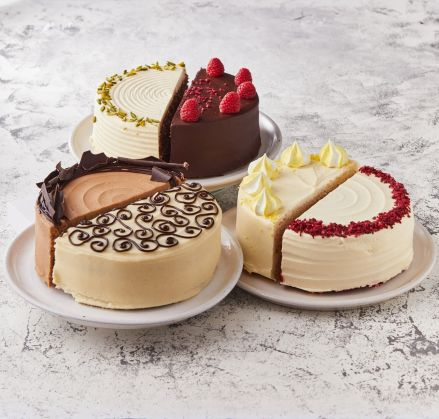 Half & Half Cake