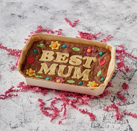 BEST MUM Brownie Slab
