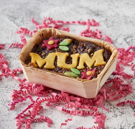 Vegan MUM Mini Brownie Slab