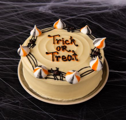 Trick or Treat Border Cake