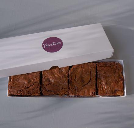 Rum & Raisin Brownie Box of 4