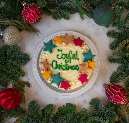 Christmas Stars Cake