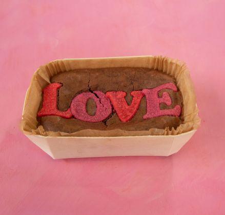 Small Love Brownie Slab