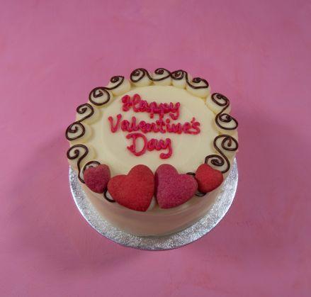 Love Hearts Cake