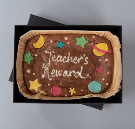 Teacher's Brownie Slab