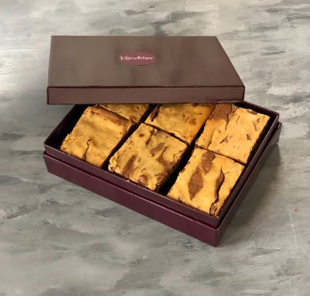 Rum & Raisin Brownie Gift Box of 12