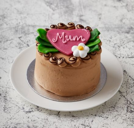 Wheat-Free Mother's Day Heart Cake