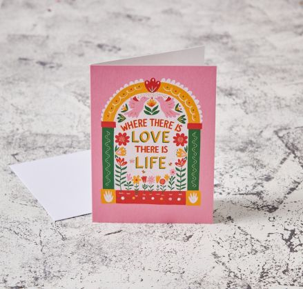 Where There Is Love Card