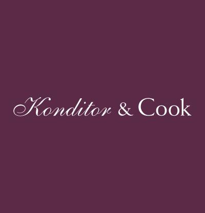 Fabulous Konditor Cook White Glitter Candles Funny Birthday Cards Online Overcheapnameinfo