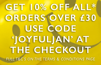 10% off all orders of £30